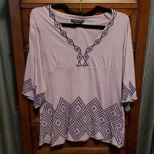 BCBG MaxAzria purple blouse